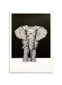 Ribboned Elephant Silver Edition