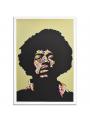 Jimi Hendrix Yellow Purple