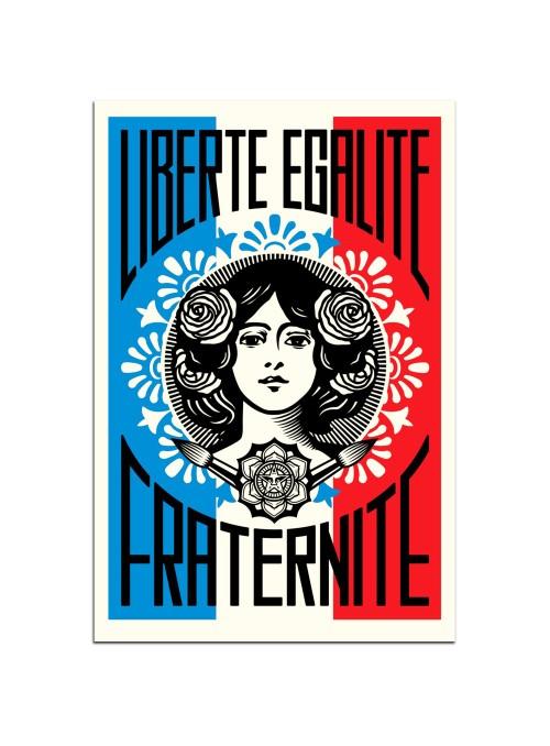 OBEY - Liberté Égalité Fraternité
