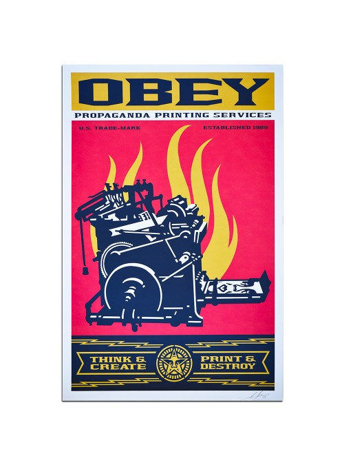 OBEY - Print and Destroy